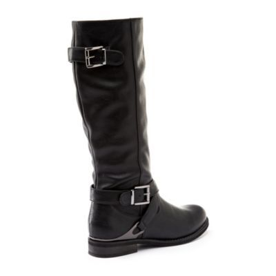 Tender Tootsies® Now! 'Ginelle' Women's Waterproof Faux Leather Riding Boot - Sears | Sears Canada