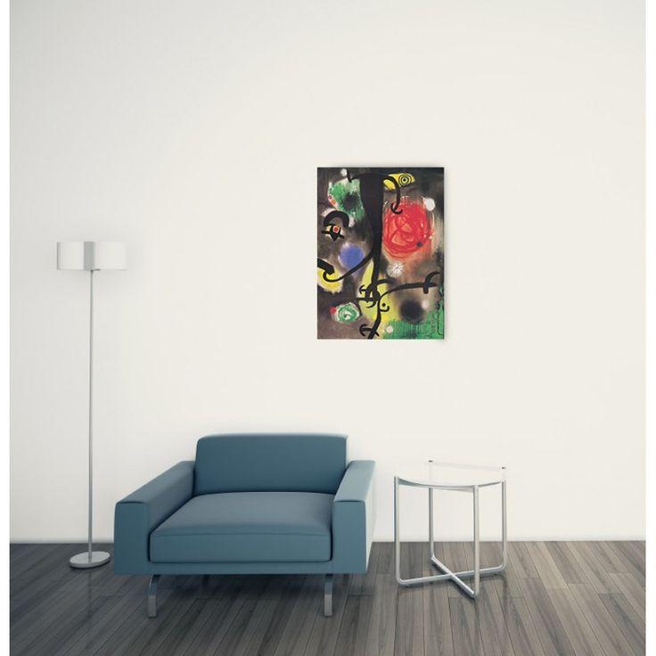 MIRÒ - Woman and birds at night 44x60 cm #artprints #interior #design #art #print #iloveart #followart #artist #fineart #artwit  Scopri Descrizione e Prezzo http://www.artopweb.com/autori/joan-miro/EC22007