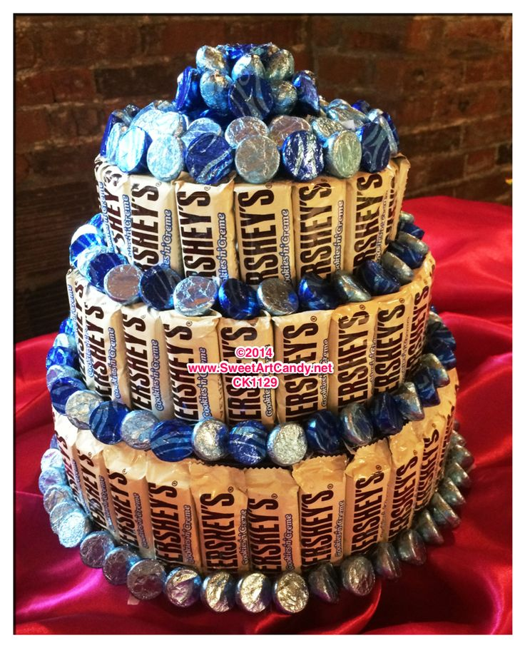 Cake With Chocolate Bar Prezup for