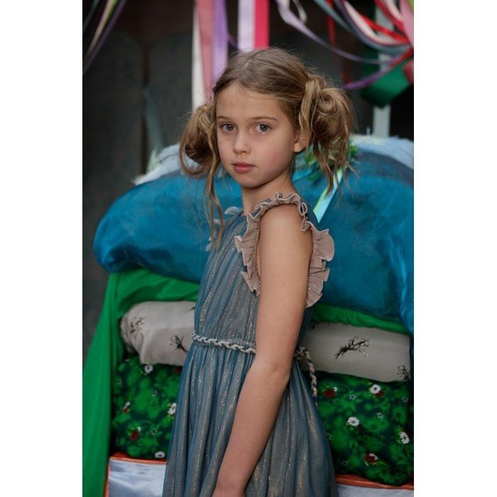 Glacier Dress - Blue - Dresses - Girls