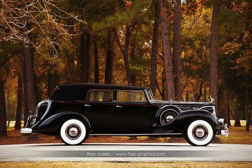 1938 Packard Twelve convertible sedan