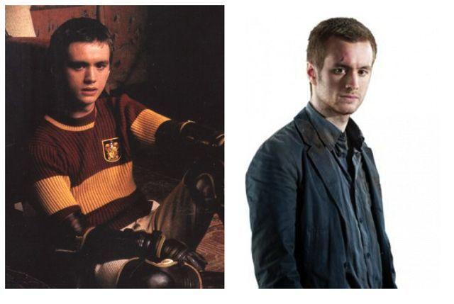 Oliver Wood (Sean Biggerstaff) then & now