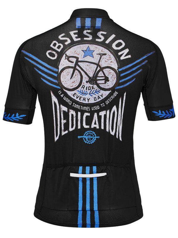 """""""Bike Obsession"""" cycling jersey from Cycology. Stunning Italian fabrication. FREE SHIPPING WORLDWIDE. #cycology, #cycling, # jerseys"""