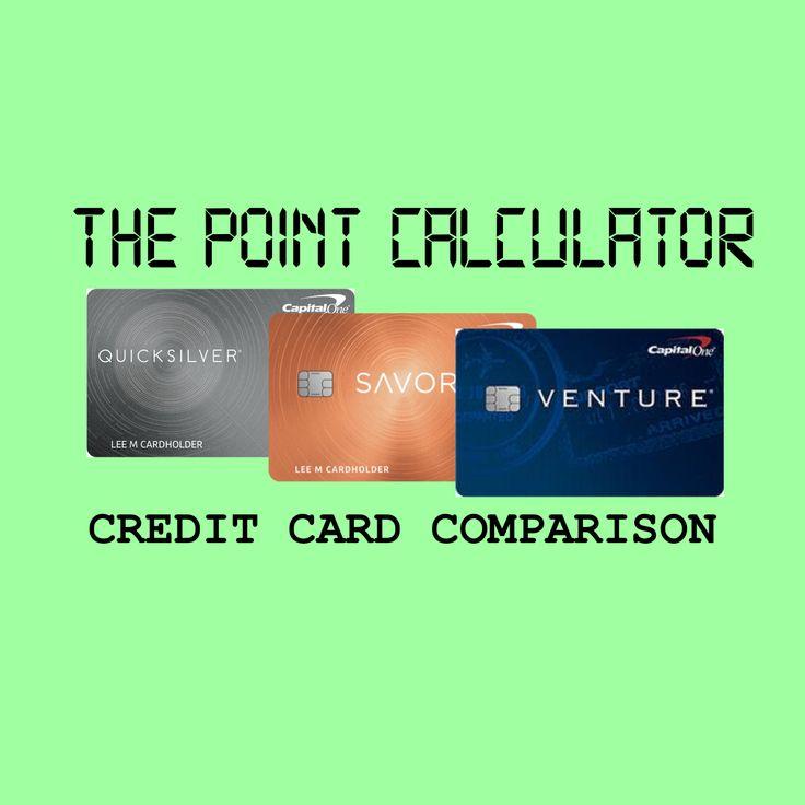 Compare capital one credit cards rewards calculator in
