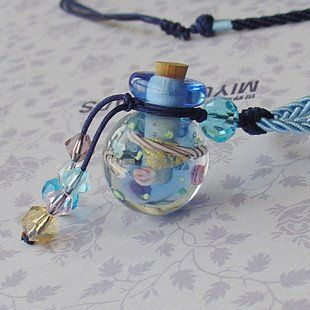 Perfume Essential Oil Necklace Diffuser Aromatherapy