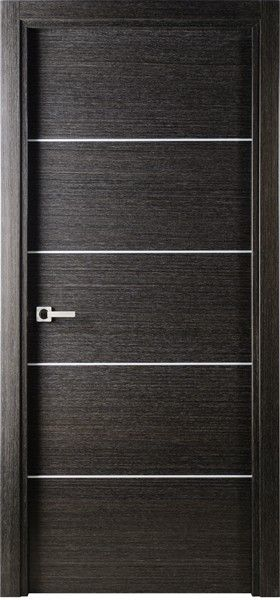 Avanti Modern Interior Single Door Italian Black Apricot