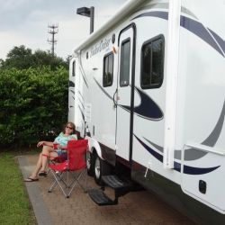 I had no idea how much stuff a new travel trailer needed. It's a bit like moving into a small home. Here's an article i wrote about just that.