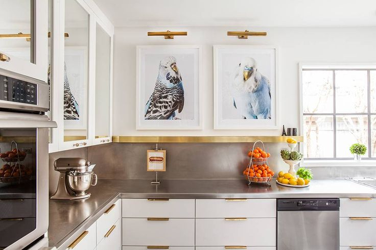 13 Reasons to Hang Artwork in Your Kitchen on domino.com