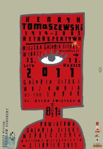 Retrospective: Henryk Tomaszewski (1914-2005) | Designer: Lech Majewski | 2011