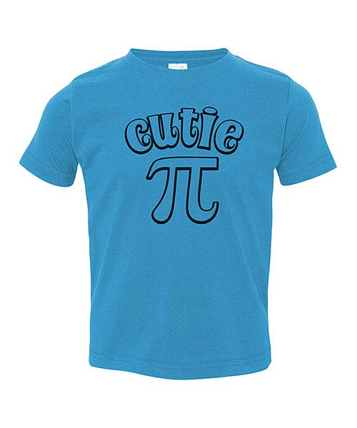 I want to make this shirt with puff paint for James next year on epic pi day !