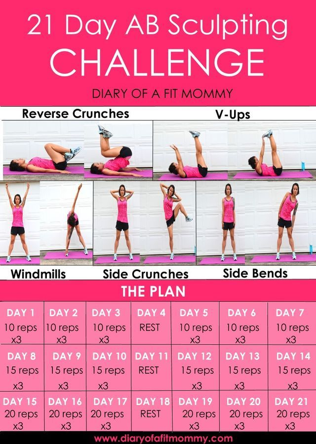 Sculpt And Shred Your Abs With This 3-Week Challenge -4092