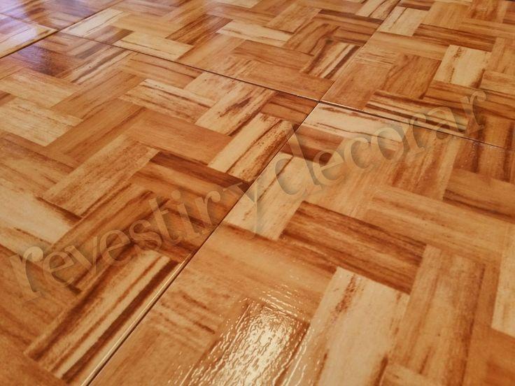 Ceramica piso simil madera parquet 1 calidad oferta for Tipos de ceramicas para pisos interiores