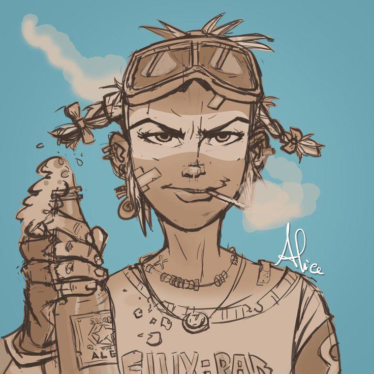 Tank Girl by Pulce90.deviantart.com on @DeviantArt