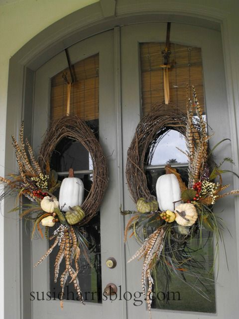 Susie Harris Fall Wreath Diy Remake For The Love Of