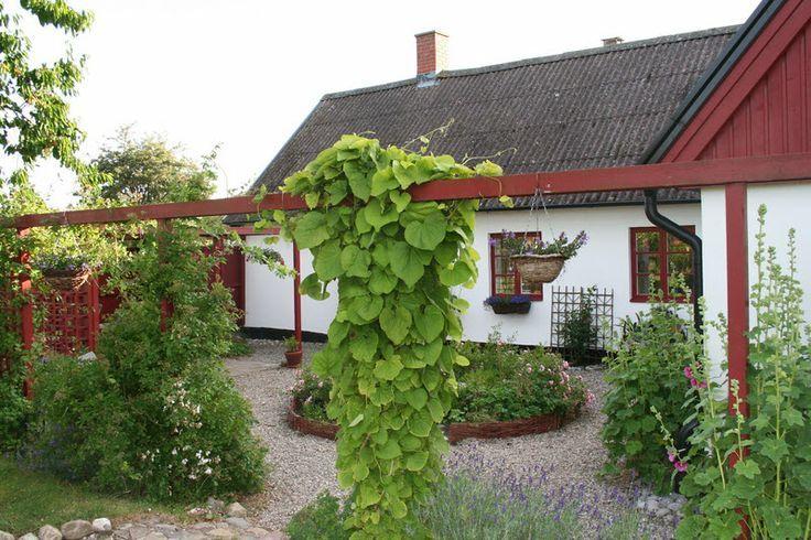 scandinavian garden | Innergård Skivarp, Skåne