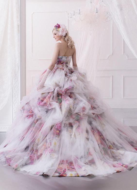 Unglaublich romantische Disneyland Prinzessin Wedding Gown