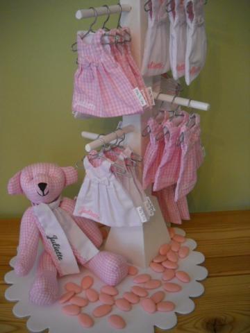 Doopsuiker Juliette // Vichy roze // Vis ta vie // <3 www.zoetgeluk <3