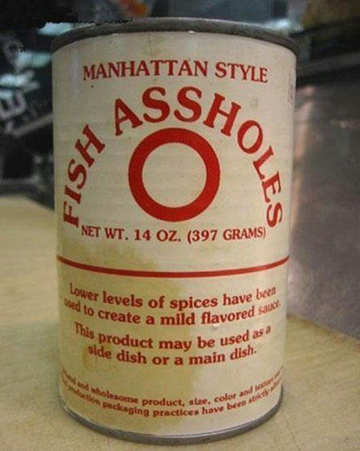 Fish A##holes:: 26 of the Most Disturbing Canned Foods