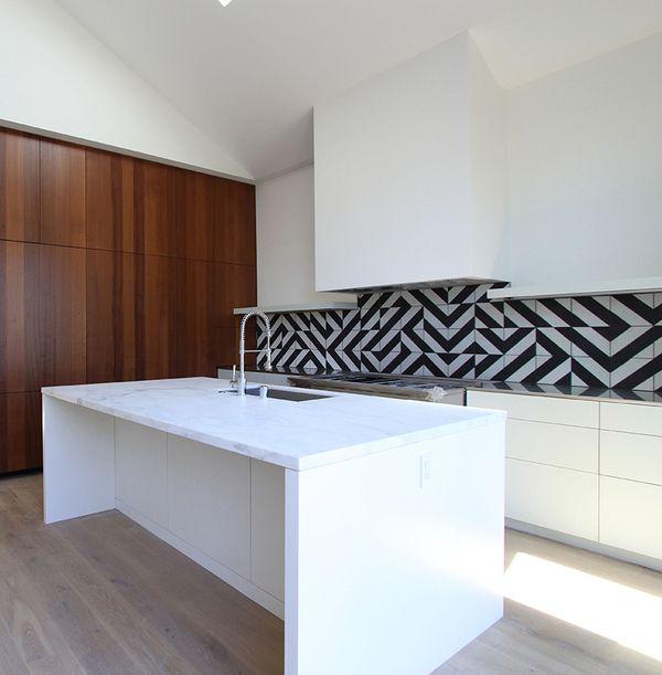 Wunderbar Backsplash Von Tim Balon. #Tiles #Fliesen #Homesk Www.homesk.de