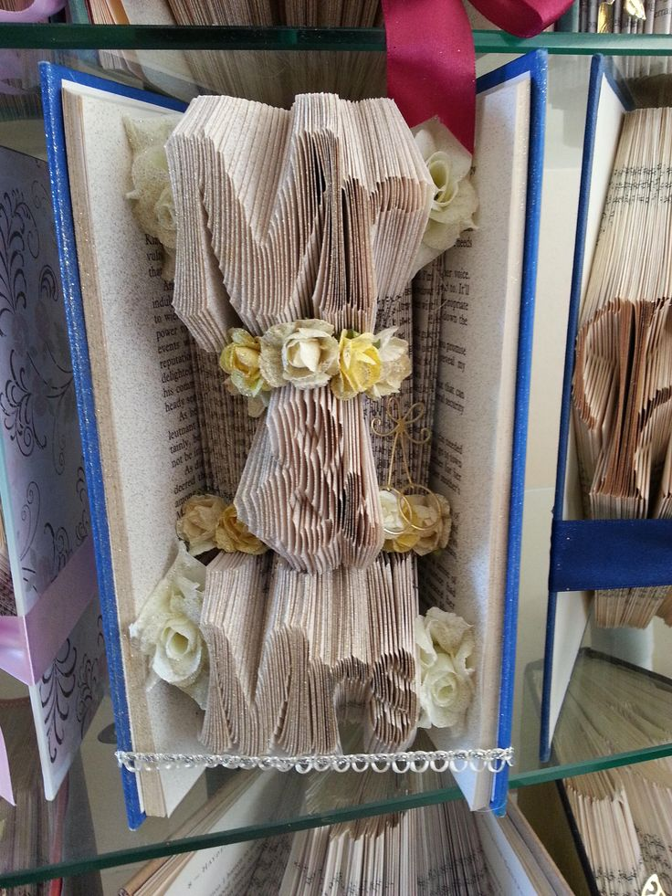 Handmade Mr & Mrs Folded Book Art Wedding Gift Wedding Decorations Wedding Present One of a Kind by DJsHandmadeCreations on Etsy