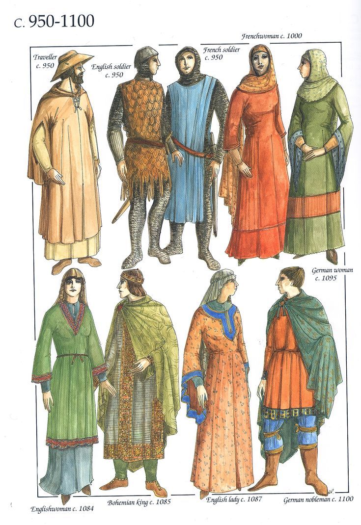 The Chronicle of Western Costume by John Peacock p.34