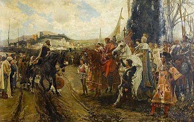Rendición de Granada, de Francisco Pradilla.