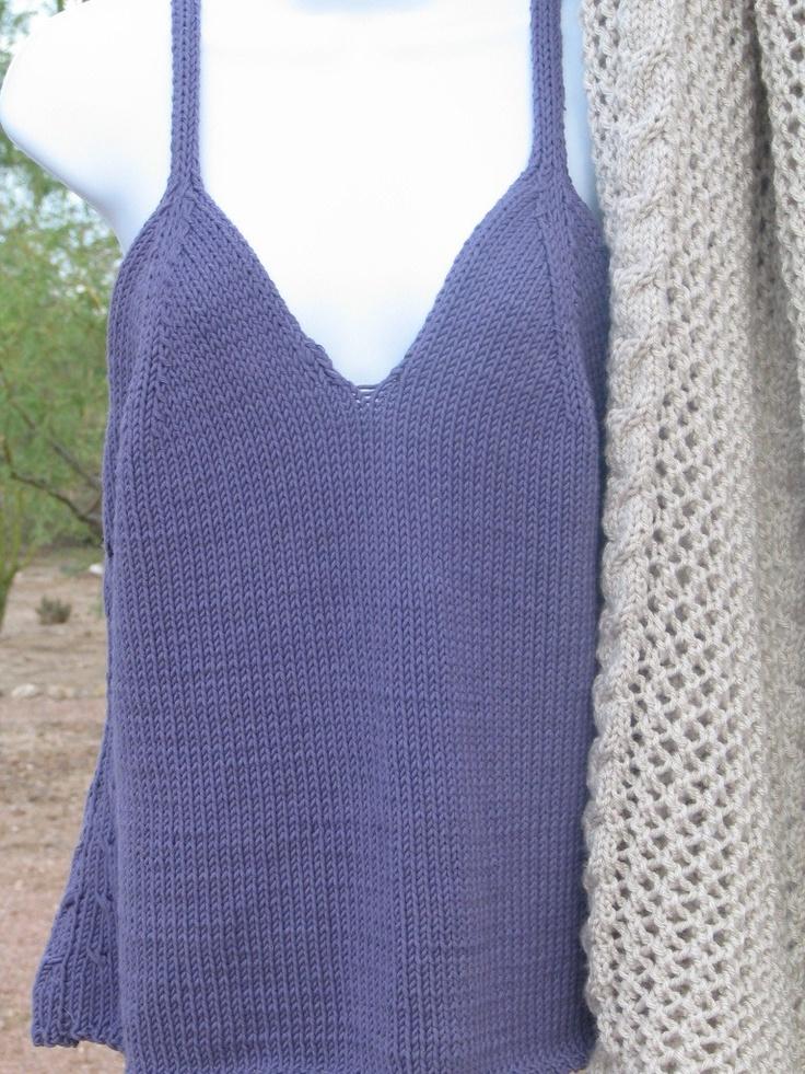 Free Knitting Patterns Tank Tops