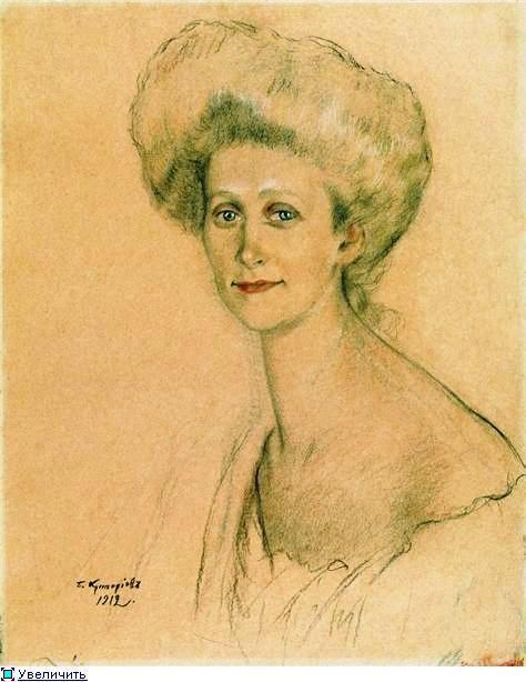 Портрет Т.Ф.  Давыдовой. 1912