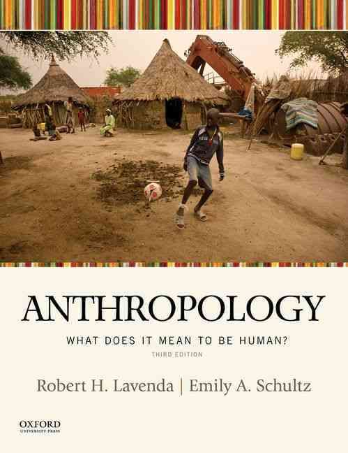A unique alternative to more traditional, encyclopedic introductory texts, Anthropology: What Does It Mean to Be Human? , Third Edition, takes a question-oriented approach that incorporates cutting-ed