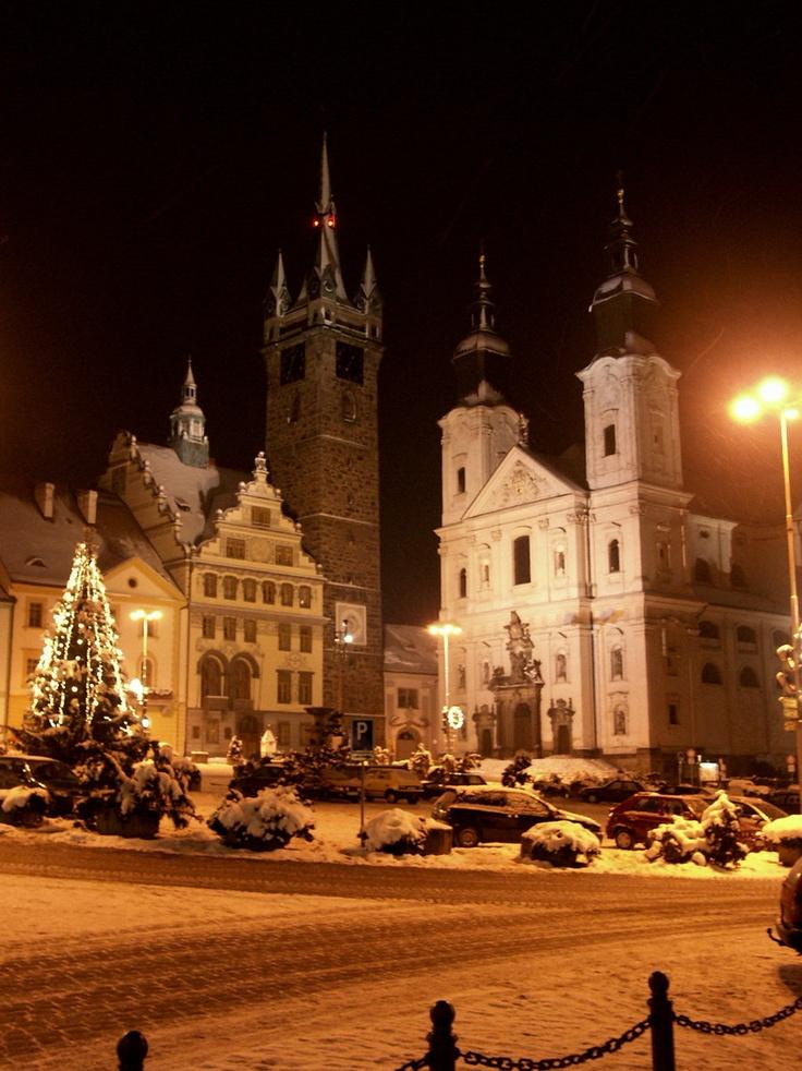 Winter in Klatovy.