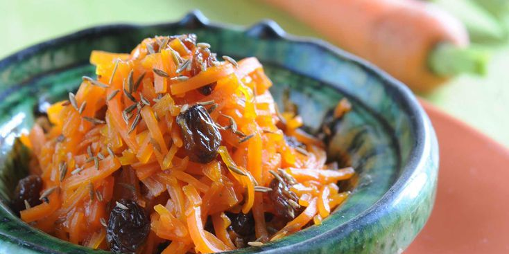 Fondue de carotte à l'orientale