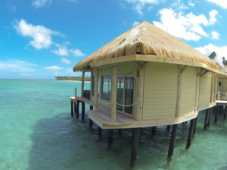 Over water accommodation at Coconut's Beach Club Resort & Spa, Samoa  www.islandescapes.com.au