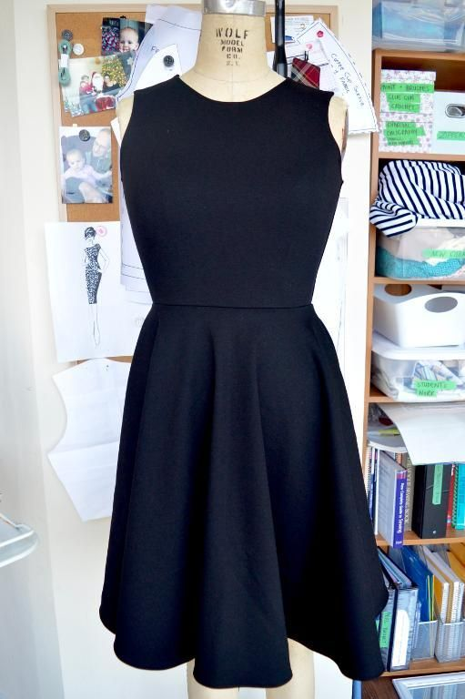 (9) Name: 'Sewing : Little Black Dress Pattern-Updated!