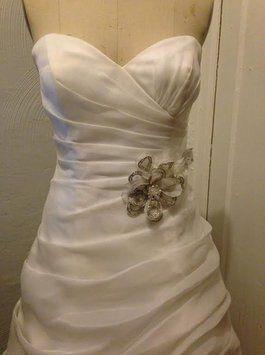 Galina Signature Wedding Gown Style Swg339 Soft White Size 6 Wedding Dress