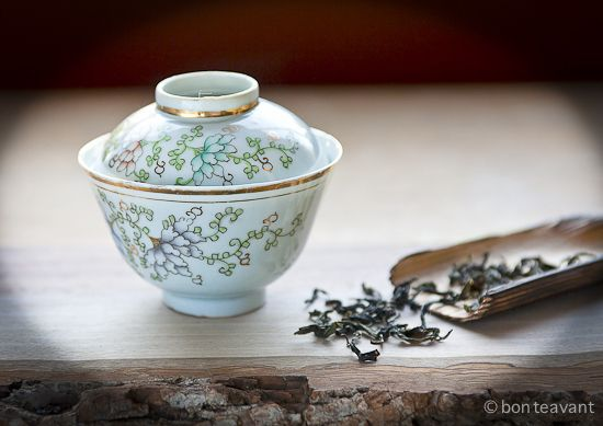 how to drink with a gaiwan