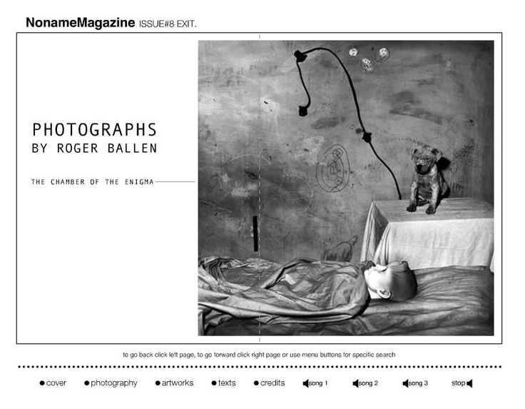 NNM.Issue #8 exit  Roger Ballen