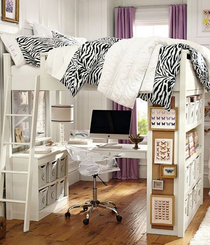 192 best cool kid\'s rooms images on Pinterest | Nursery, 3/4 beds ...