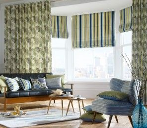 Need more of a summer feeling in your home? These made to measure Roman Blinds come from our iLiv Beach collection which comes in four stunning colour-ways; Indigo, Teal, Multi and Pink!