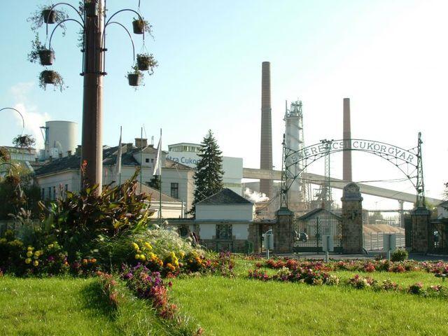 Cukorgyár / Sugar factory Forrás/source: szerencs.utisugo.hu