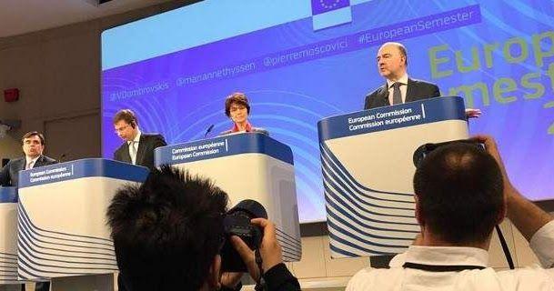 Κομισιόν: Απειλεί με κυρώσεις την Ιταλία για το χρέος -Πρόστιμο στην Αυστρία για ψευδή στοιχεία