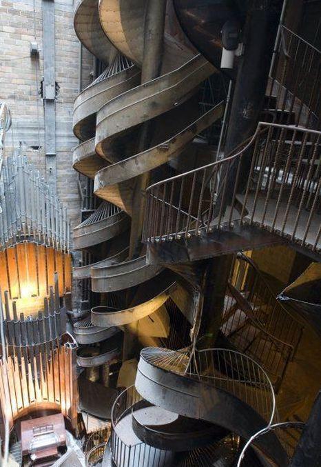 St Louis Şehir Müzesi, Seven-Story Slide, ABD