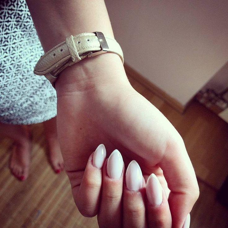 Manicure francuski, french manicure, nails #piekniejszaty