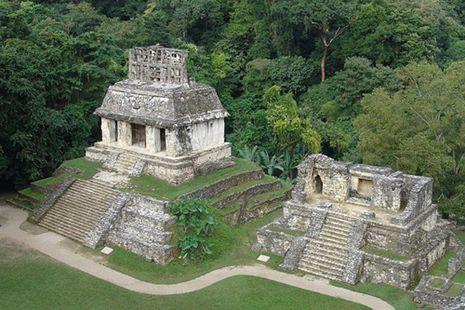 Las ruinas de Palenque, Chiapas