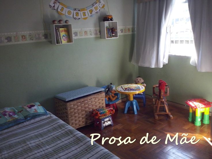 Organizar e Reorganizar o quarto das crianças