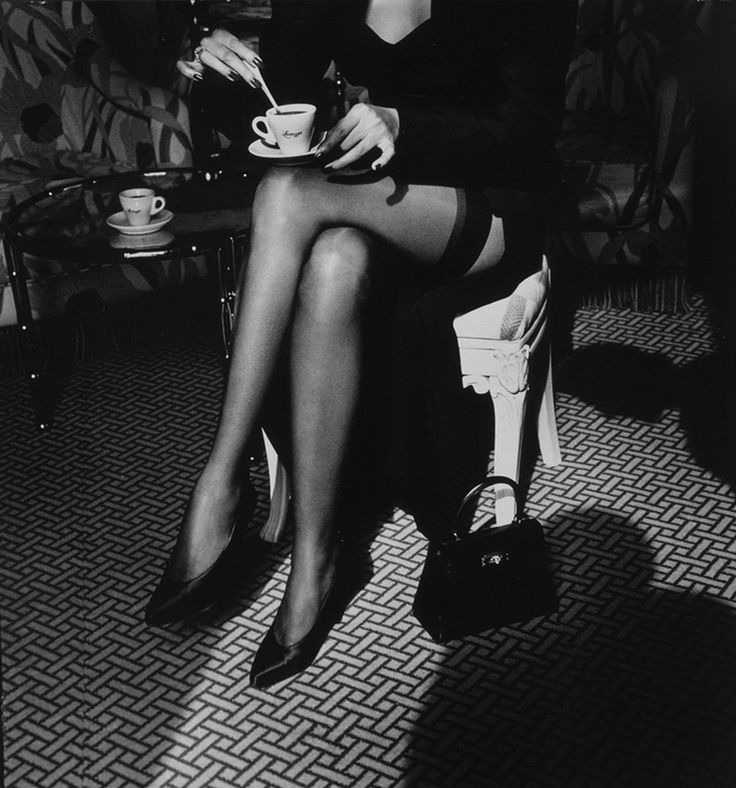 Helmut Newton for Lavazza