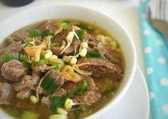 Soto Daging Kuah Bening