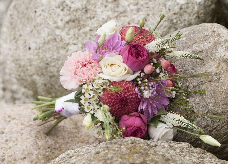 My wedding bouquet. Photo: Sine Perrod
