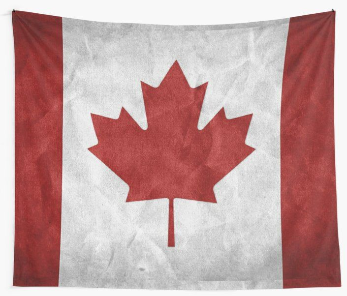 Canada Grunge Flag Tapestry By Valentinahramov Wallpaper Canada Flags Of The World Canadian Flag Canada flag wallpaper hd for mobile