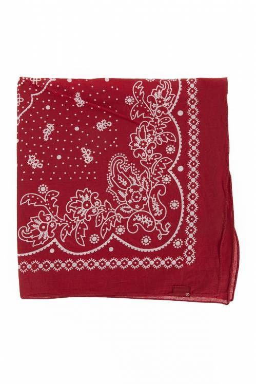bandana authentic levi's rouge - accessoires echarpe homme #bandana #unclejeans