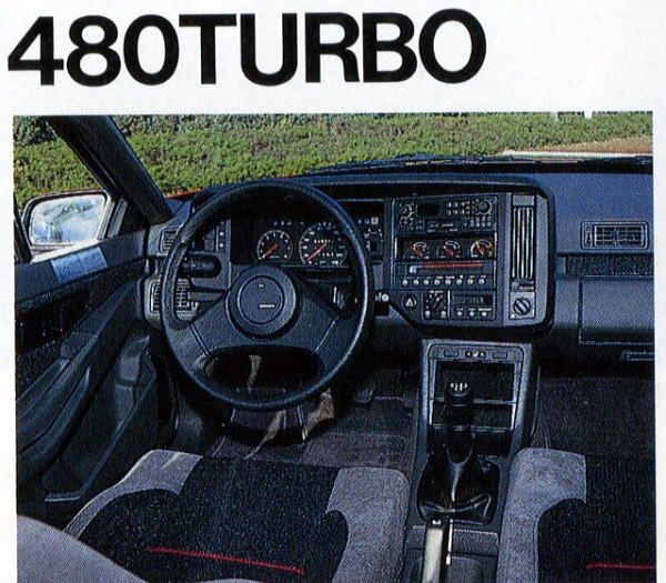 480 TURBO - Volvo 480 (1986–1995)
